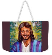 He Smiles Weekender Tote Bag
