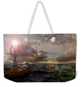 He Who Dared To Care Weekender Tote Bag