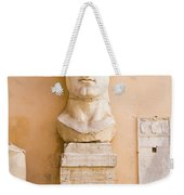 Head From The Statue Of Constantine, Rome, Italy Weekender Tote Bag