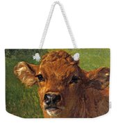 Head Of A Calf Weekender Tote Bag