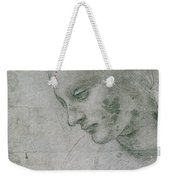 Head Of A Young Woman Or Head Of The Virgin Weekender Tote Bag