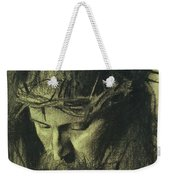 Head Of Christ Weekender Tote Bag