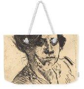 Head Of Woman (frauenkopf) Weekender Tote Bag