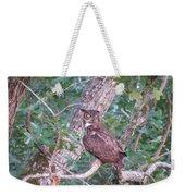 Head On A Swivel Weekender Tote Bag