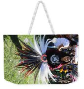 Head Piece Dancer Day Of The Dead  Weekender Tote Bag