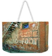 Head To Foot Weekender Tote Bag