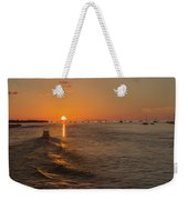 Heading Into The Sunset Weekender Tote Bag
