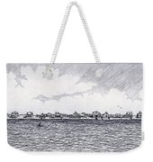 Heading Out To The West Bar Weekender Tote Bag