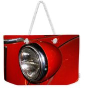 Headlamp On Antique Fire Engine Weekender Tote Bag