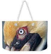 Headshot Brown Pelican Weekender Tote Bag