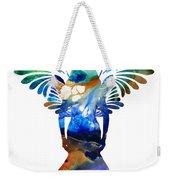 Healing Angel - Spiritual Art Painting Weekender Tote Bag
