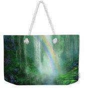 Healing Grotto Weekender Tote Bag by Carol Cavalaris