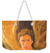 Healing With The Golden Light Weekender Tote Bag