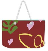 Health - Celebrate Life 3 Weekender Tote Bag