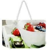 Healthy Breakfast Weekender Tote Bag