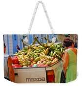 Healthy Fast Food Weekender Tote Bag