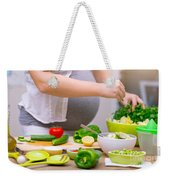 Healthy Pregnancy Concept Weekender Tote Bag