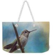 Hear Her Song - Hummingbird Art Weekender Tote Bag