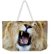 Hear Me Roar Weekender Tote Bag