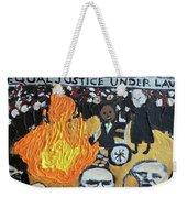Hear No Evil See No Evil Judicial Abuse Weekender Tote Bag