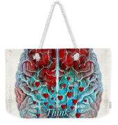 Heart Art - Think Love - By Sharon Cummings Weekender Tote Bag