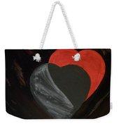 Heart Blocker Weekender Tote Bag