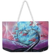 Heart Blossom Weekender Tote Bag