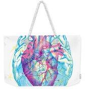 Heart Brain Weekender Tote Bag