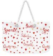 Heart Jp08 Weekender Tote Bag