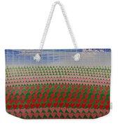 Heart Fields Weekender Tote Bag