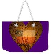 Heart For Texas Weekender Tote Bag