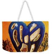 Heart In Glory Weekender Tote Bag