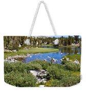 Heart Lake Folaige Weekender Tote Bag