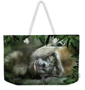 Heart Of A Beast Weekender Tote Bag