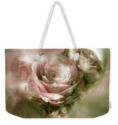 Heart Of A Rose - Antique Pink Weekender Tote Bag
