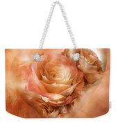 Heart Of A Rose - Gold Bronze Weekender Tote Bag