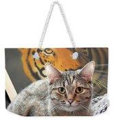 Heart Of A Tiger Weekender Tote Bag