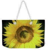 Heart Of Gold Sunflower Weekender Tote Bag