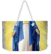 Heart Of Mary Weekender Tote Bag