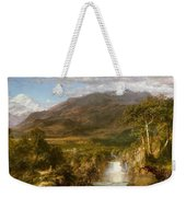 Heart Of The Andes Weekender Tote Bag