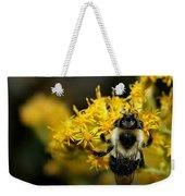 Heart Of The Bee Weekender Tote Bag