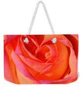 Heart Of The Rose Weekender Tote Bag