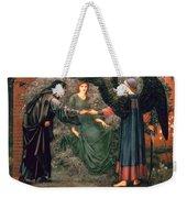 Heart Of The Rose Weekender Tote Bag by Sir Edward Burne-Jones