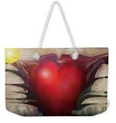 Heart Of The Sunrise Weekender Tote Bag