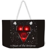 Heart Of The Universe Weekender Tote Bag