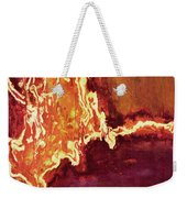 Heart On Fire Weekender Tote Bag