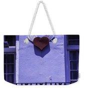 Heart On Wall Weekender Tote Bag