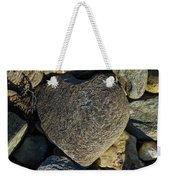 Heart Shaped Stone Loch Fyne  Weekender Tote Bag
