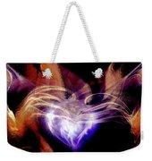Heart Wings Weekender Tote Bag