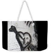Heart Written In The Trees 3 Weekender Tote Bag